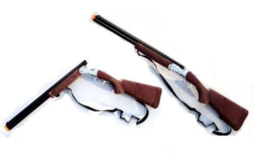 Kinder Gewehr Cowboy Gewehr 77cm mit Schuss Geräuschen -