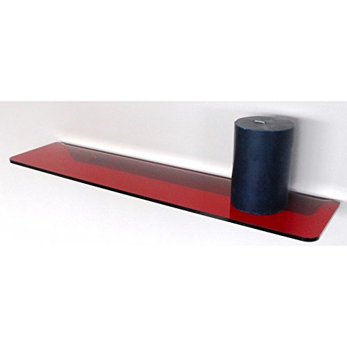 Fimel mensola hob con alzata per montaggio a muro rossa