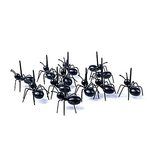 Mini Ant Obst Gabel Picks, 100wiederverwendbar Lovely Ameisen Mini Cartoon