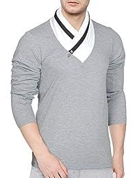 Seven Rocks Regular Fit Men's Cotton T-Shirt (T42)