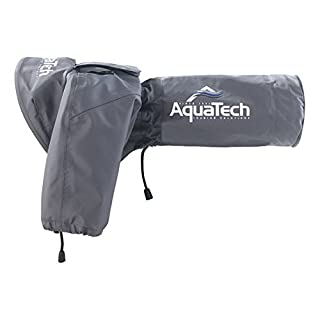 Aquatech Medium Sports Shield Rain Cover - Black