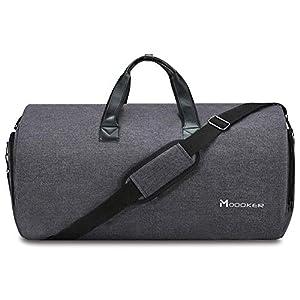 Modoker Rereise Kleidersack Anzugtasche Reisetasche Handtasche Faltbare Schultertasch Herren Weekender Sporttasche Damen…