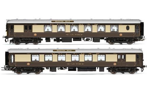 Hornby R3606Pullman Brighton Belle 5-Bel-5Car Pack (Lionel Starter-set)
