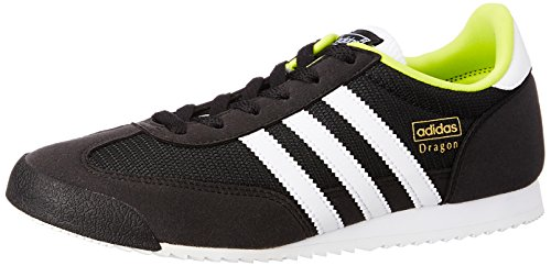 Adidas Dragon J Schuhe core black-running white-semi solar yellow - 38 2/3