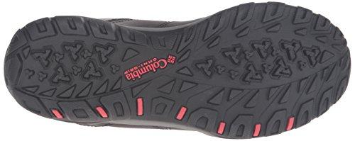 Columbia Fire Venture Mid, Chaussures Multisport Outdoor Femme Noir (Black/Burnt Henna 010)