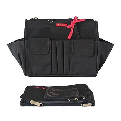 Myliora Organiseur de sacs à main, noir (noir) - MYLI-55200