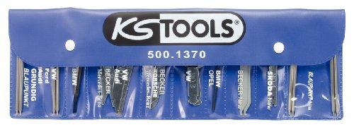 KS Tools 500.1370 Radio-/Navigationssystem Demontage und Montage-Satz, 18-tlg.