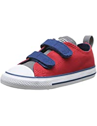Converse Chuck Taylor All Star 2V Ox - Zapatillas de Deporte de canvas Infantil