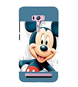printtech Mickey Mouse Back Case Cover for Asus Zenfone 6::Asus Zenfone 6 A600CG