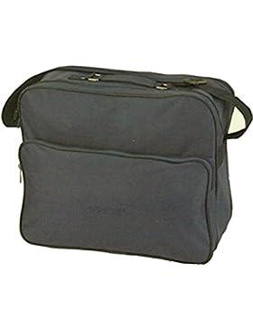 Herrentasche 945 anthrazit Umhängetasche Allzwecktasche, Handyfach, extra RV-Rückfach
