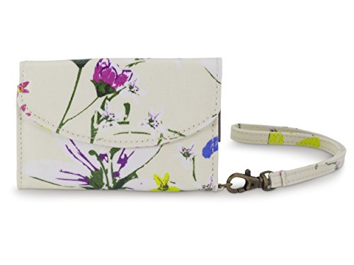 All For Color Heritage Floral Smart Phone ID Wristlet