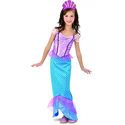 Imagen de disfraz sirenita niña  5 6 años