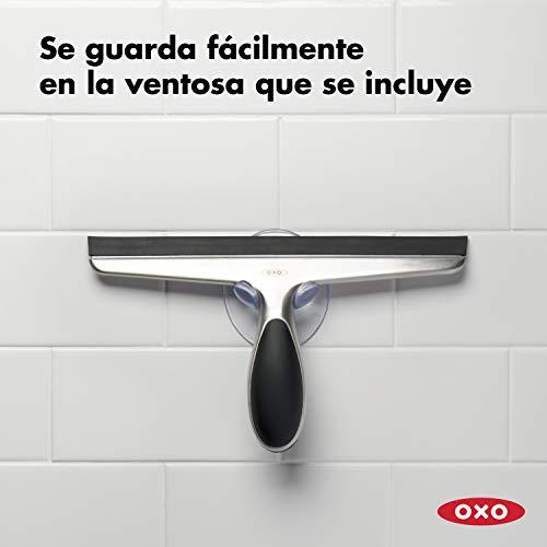 41gBRy5ME9L - OXO Good Grips Limpiador de Ventanas - Limpiacristales acero inox.