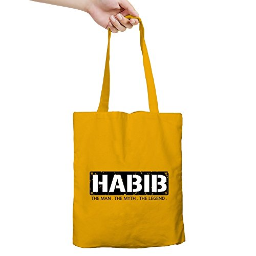idakoos-habib-the-man-the-myth-the-legend-male-names-canvas-tote-bag
