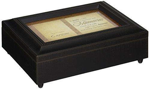 Carson Home Accents 17948Tränen, Erinnerungen Musik Box, 20,3cm Trauer von 6von 2-3/4-Zoll