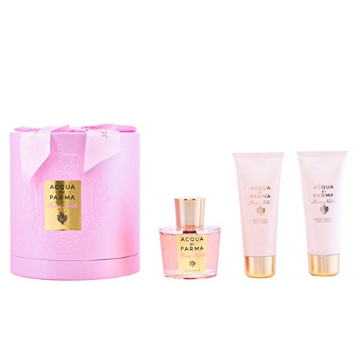 Acqua di Parma Damendüfte Rosa Nobile Geschenkset Eau de Parfum Spray 100 ml + Bath & Shower Cream 75 ml + Body Cream 75 ml 1 Stk.