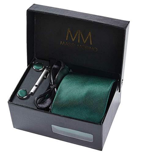 Massi Morino ® Set corbata Hombre incluye