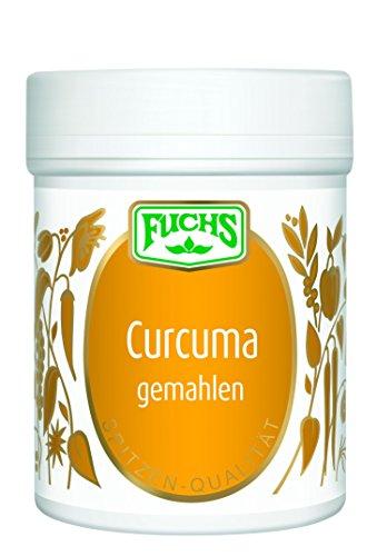 Fuchs Curcuma gemahlen Kurkuma-Gewürz indisches Gewürz, Kurkumapulver, für indisches Curry und asiatische Gerichte, Menge: 3 Stück