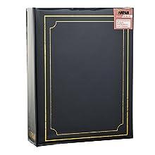 ARPAN Album Fotografico 15 x 4 cm, con 200 Tasche, Blu, 18.3 x 4.5 x 22.9 cm