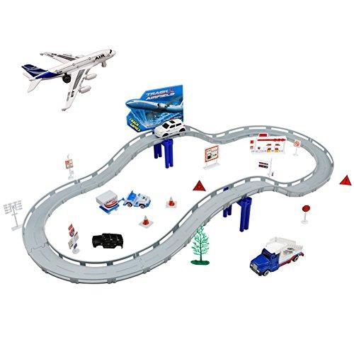 Pista Macchine Giocattolo Elettronico Gioco Aeroporto usato  Spedito ovunque in Italia