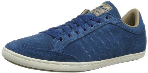 adidas Originals Plimcana Clean Low-2 D65622 Herren Sneaker Blau (TRIBE BLUE S14 / ST CARGO KHAKI F13 / LEGACY)