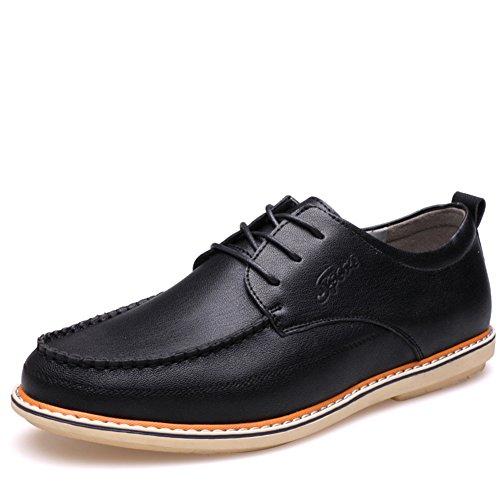 chaussures en cuir décontractée pour hommes/Tête ronde bracelet casual chaussures d'Angleterre A