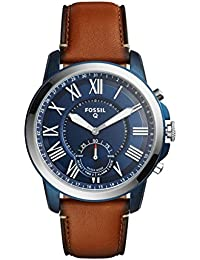 Fossil Grant Analog Blue Dial Men's Watch - FTW1147
