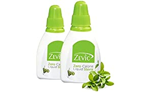 Zevic Sugarfree Stevia Liquid, 25g (Pack of 2)