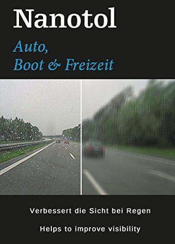 Nanotol Testsieger Regenabweiser Scheibenversiegelung 2in1 Cleaner+Protector - Reinigung & Nanoversiegelung | Autopflege mit Lotuseffekt | Cockpit-Reiniger (50 ml)