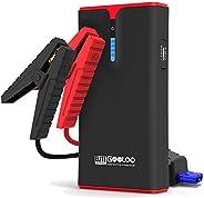 GOOLOO Avviatore Emergenza per Auto, 1500A Avviatore Batteria Auto/Moto 12V Jump Starter Booster Auto Impermea
