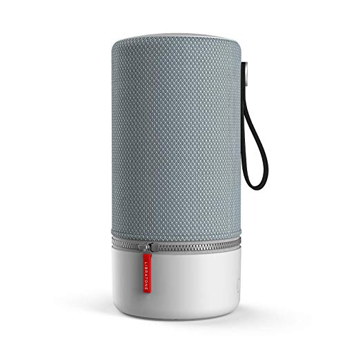 Libratone ZIPP 2 Smart Wireless Lautsprecher (Alexa Integration, AirPlay 2, MultiRoom, 360° Sound, Wlan, Bluetooth, Spotify Connect, 12 Std. Akku) frosty grey