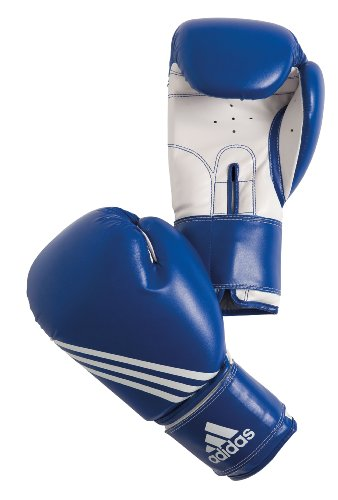 adidas Training Boxing Gloves, Blue, 8, ADIBT02-BL08