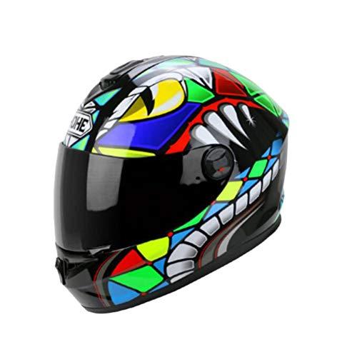 Uomini Professional integrali moto Caschi anti nebbia lente donne casco stagioni universale Racing protezioni tappi anti caduta Mountain Bike Motocross tappi di sicurezz