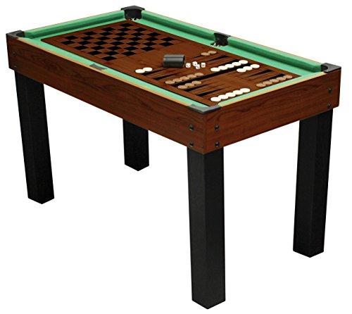 1PLUS umfangreicher Multifunktionsspieltisch Tischkicker-Multifunktionstisch (10 in 1) für die ganze Familie -