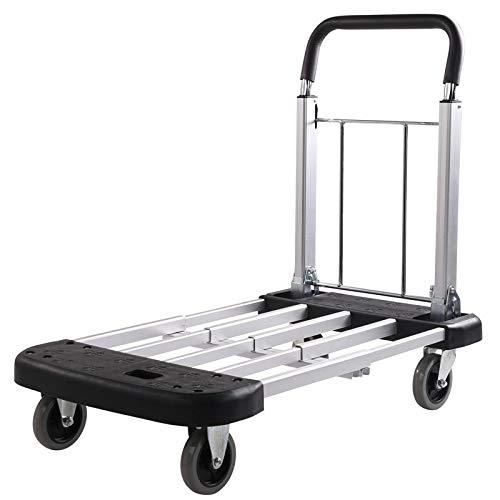 Alu-Transportwagen mit ausziehbarer Ladefläche 150 kg