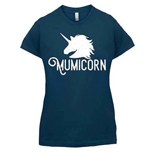 Mumicorn - Damen T-Shirt - 14 Farben Navy