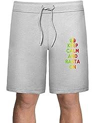 Keep Calm And Rasta On Shorts deportivos