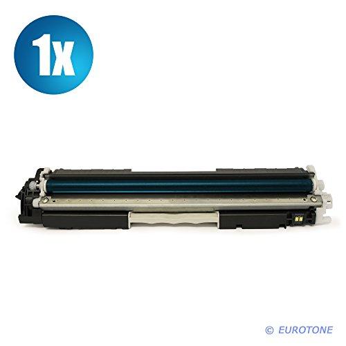 Eurotone MARKENTONER remanufactured für Color Laserjet Pro MFP M 176 n, M 177 fw Serien - ersetzen HP Blaue CF351A C Patrone Original EUROTONE (ISO-Norm 19798) (Hp-drucker-tinten-35a)