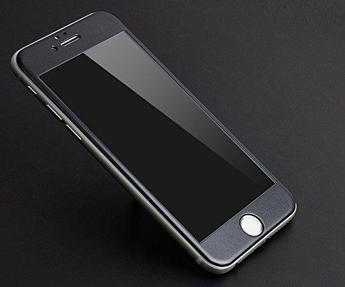 InShang Apple Iphone6 6S (4.7 inch) Pellicola protettiva vetro temperato,Super resistente agli urti,ultra-trasparente film protezione dello schermo di alta sensibilità,Full Screen 3D curve 100% fit +T black