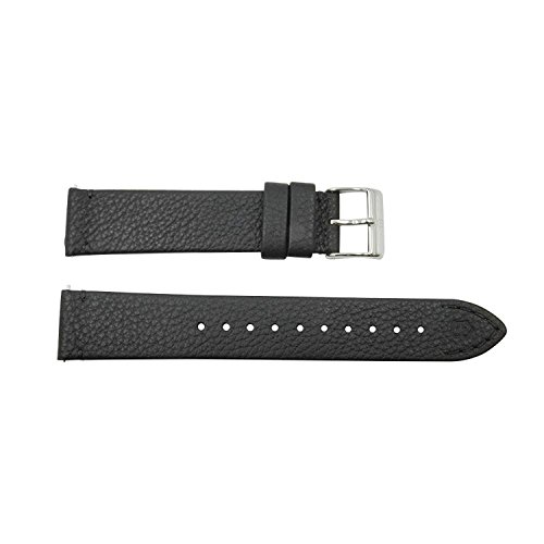 Victorinox Alliance 17mm Black Leather Watch Strap (Victorinox Uhren-bands)