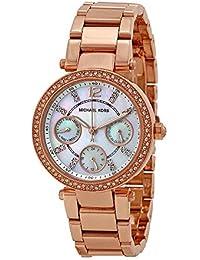 Michael Kors Reloj Analógico para Mujer de Cuarzo con Correa en Acero Inoxidable MK5616
