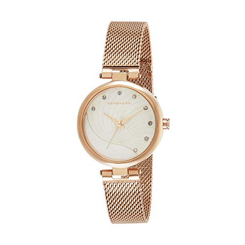 Giordano Analogue Off White Dial Women's Watch - GD-4006-22
