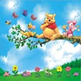 WINNIE THE POOH Childrens Bedroom Nursery Wall Stickers