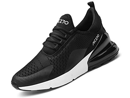 QJRRX Homme Femme Air Baskets Chaussures Gym Fitness Sport Sneakers Style Running Multicolore Respirante Multisports Outdoor Casual Baskets