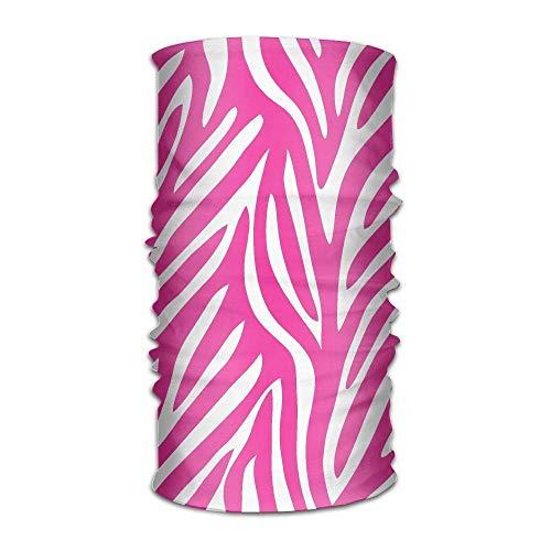 Multifunctional Headwear Pink Leopard Print Print Head Wrap Sports & Casual Headband Bandana for Women and ()