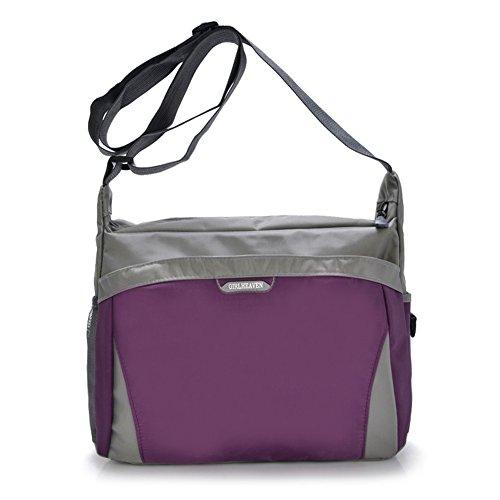 Sac à bandoulière/Sac neutre/Incline sac à bandoulière/Sacs d'école/Sac de voyage/Sac en toile matelassée-A A