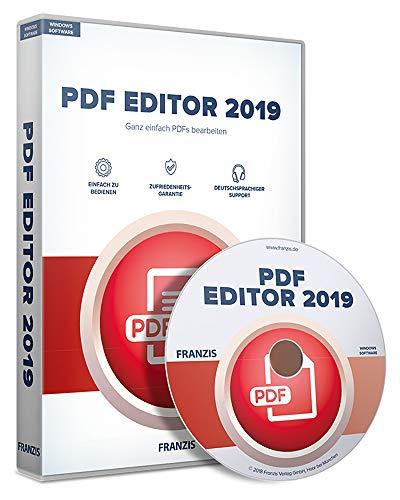 FRANZIS PDF Editor 2019|2019|Für bis zu 3 Geräte|zeitlich unbegrenzt nutzbar|Software für Windows...