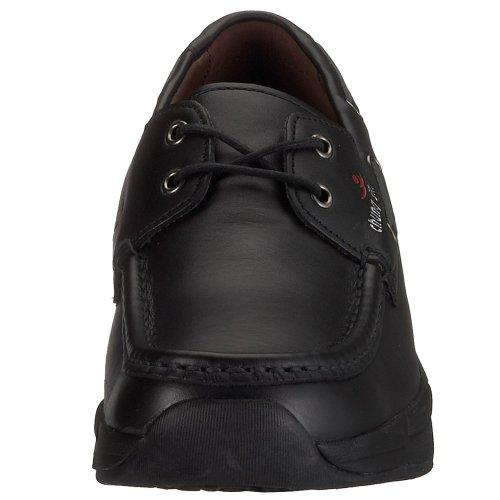 Chung Shi Comfort Step Mokassin Herren 9100, Herren Mokassins Schwarz  (Black)