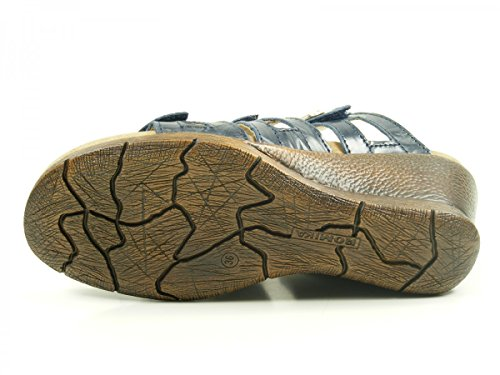 Romika - Nevis 04, Pantofole Donna Blau