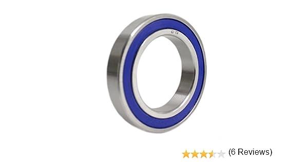 20 x 32 x 7 mm S6804 2RS//SS6804 2RS Roulement /à billes /à section mince en acier inoxydable Qualit/é industrielle SS 6804RS